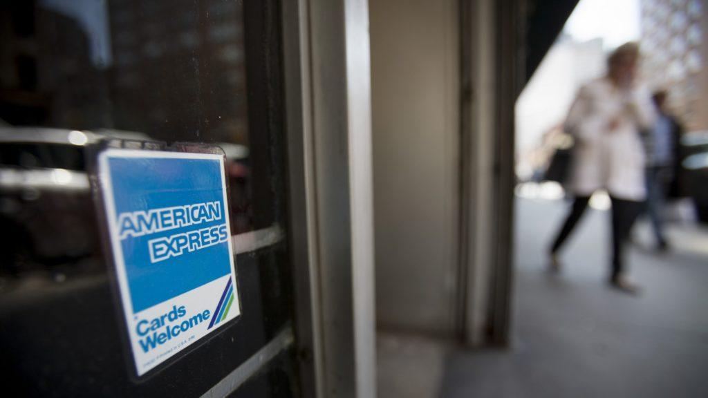 American Express sticker